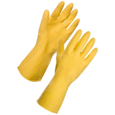 Supertouch Household Latex Gloves 1331 5 Safetygloves Co Uk